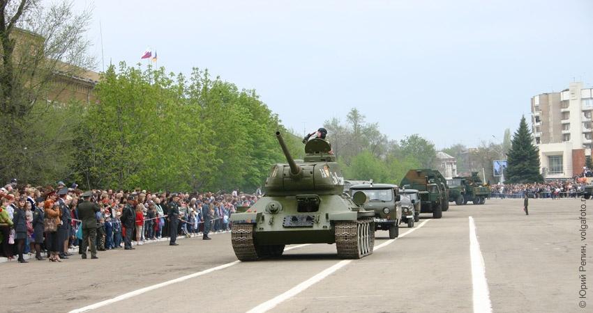 """Празднование """"Дня Победы"""" 1975-2011 гг."""