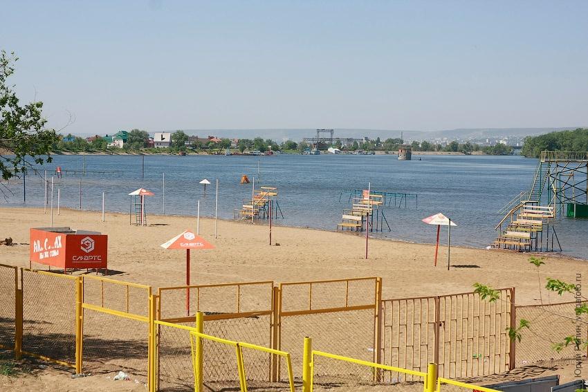 Гродской пляж в мае
