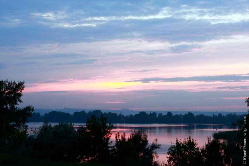 Энгельсские закаты