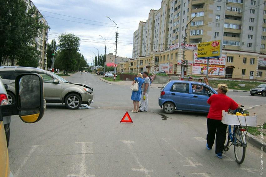 Утренняя авто авария