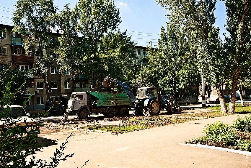 На ул. Ломоносова прорыв