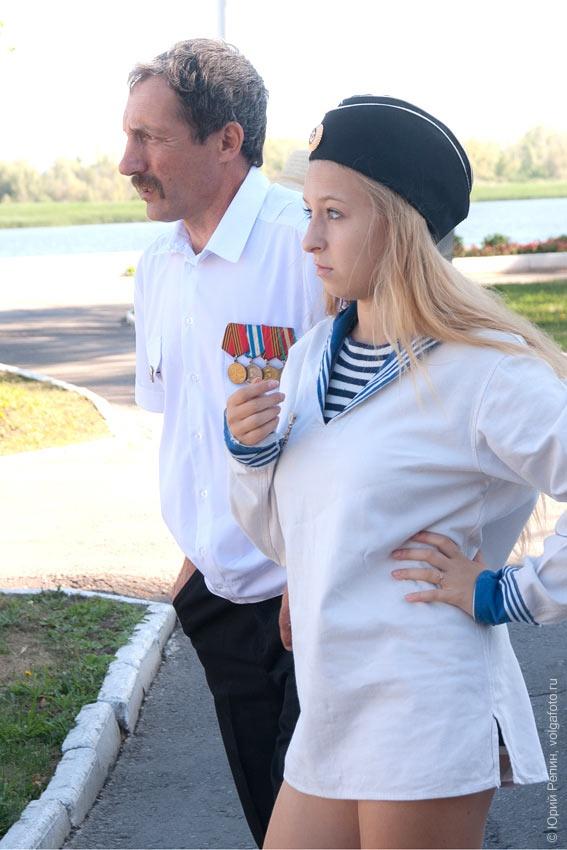 День Военно-морского флота в городе Энгельсе