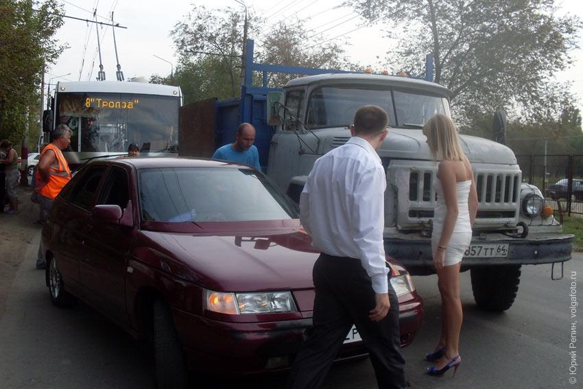 Свадебная авария