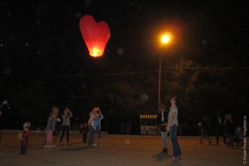 Небесные фонарики поддержат ребёнка