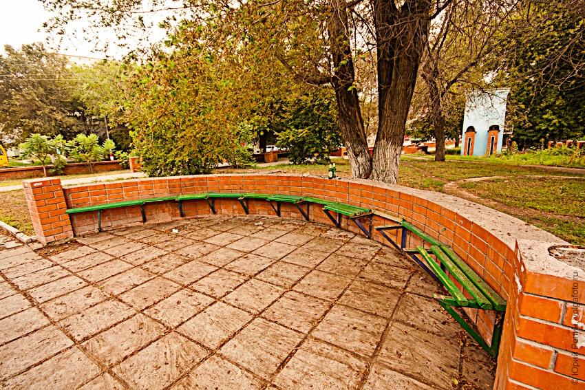 Сквер на ул. Маяковского