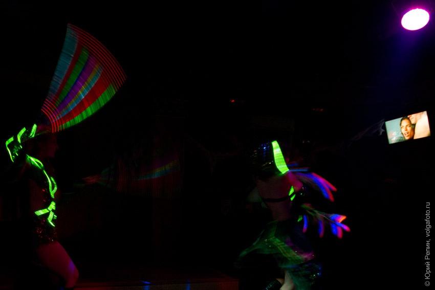 Световое шоу в Хэллоуин