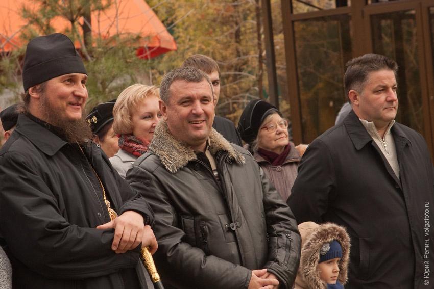 Открытие памятника Петру 1