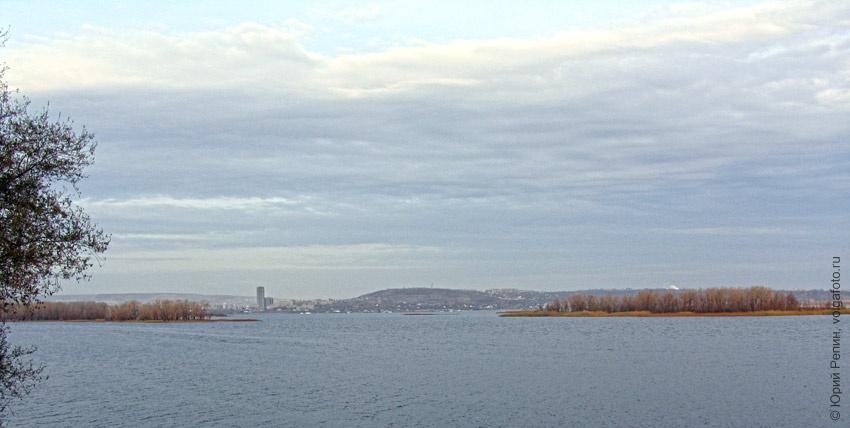 Осень Волга