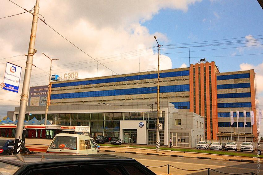 """Район """"Торговый центр"""""""