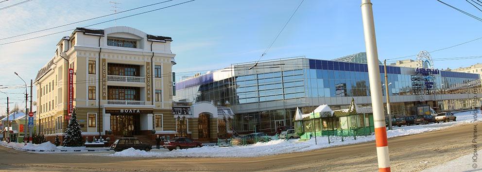 Зима на пл. Ленина