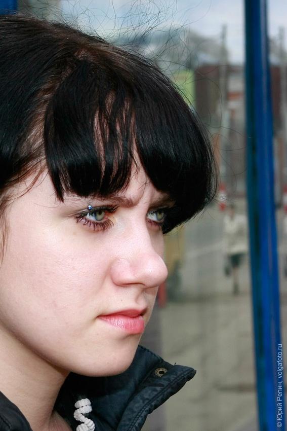 Портрет с серёжками