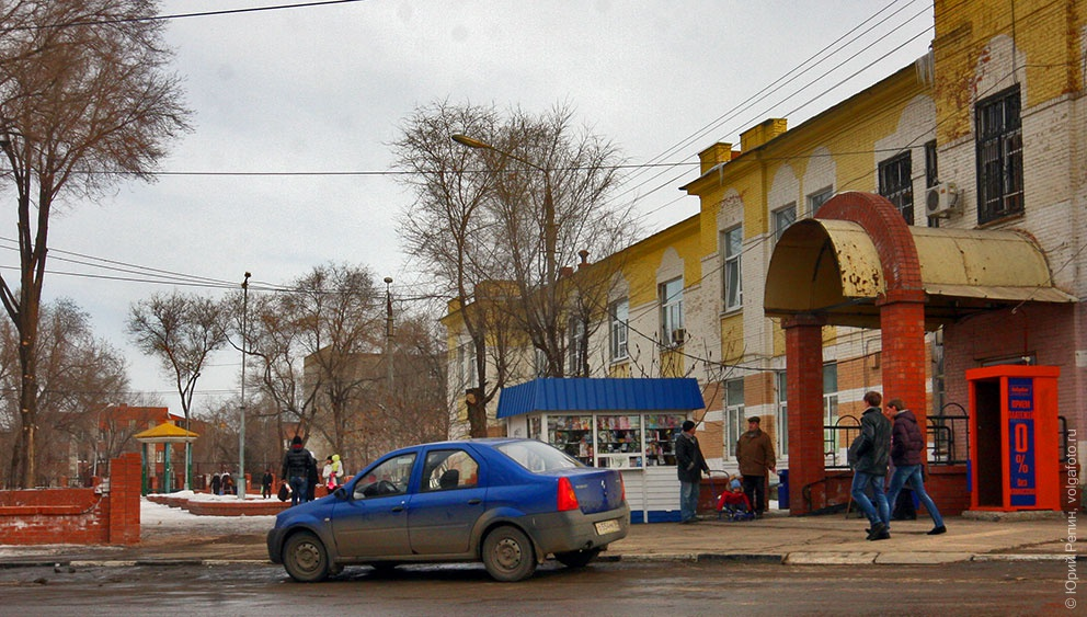 Арка сквера на ул. Маяковского