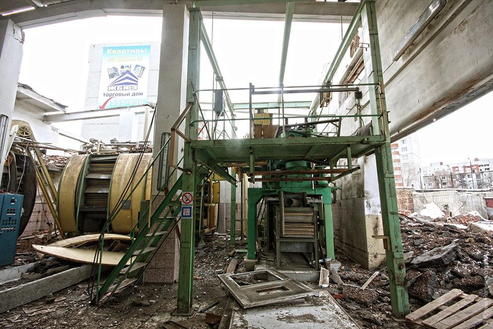 Конец макаронной фабрики