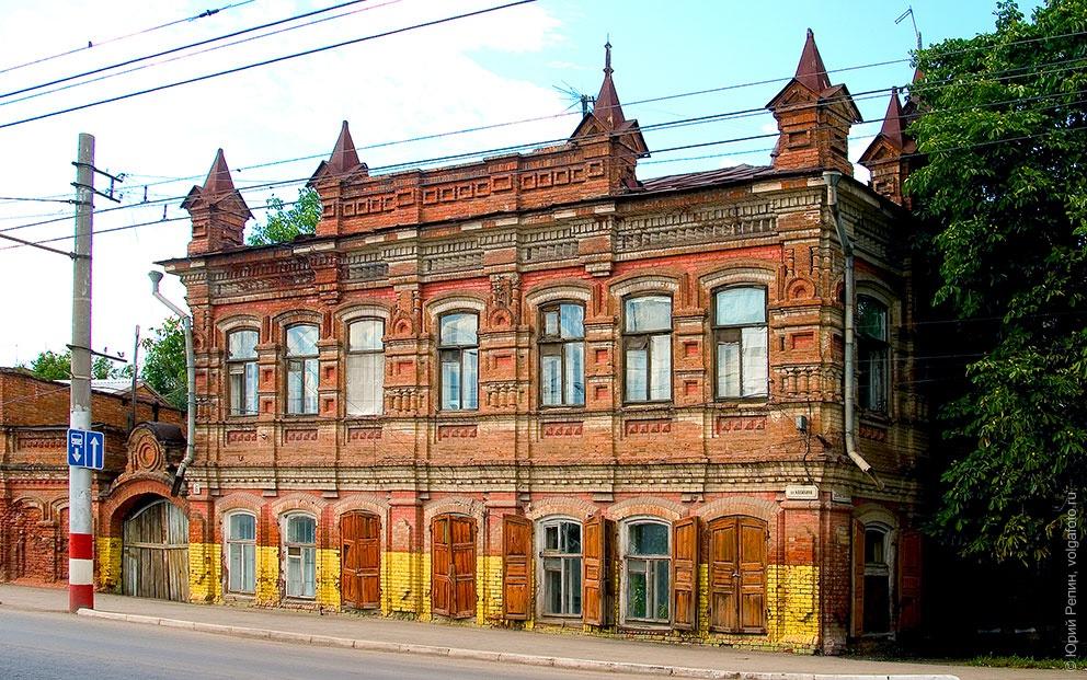Улица Свердлова (Крестовоздвиженская)